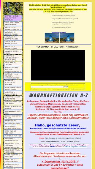Mobile preview of allinformierendes.de