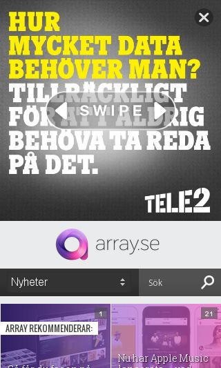 Mobile preview of mbln.se