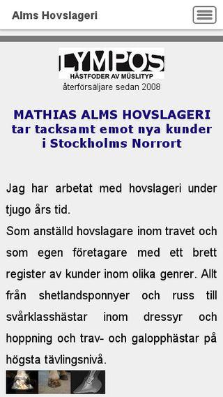 Mobile preview of almshovslageri.se