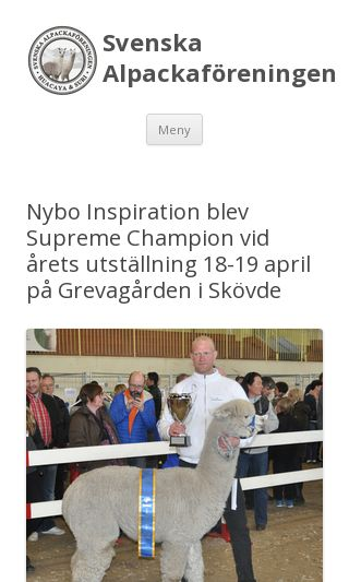 Mobile preview of alpackaforeningen.se
