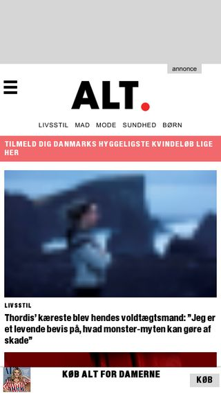 Mobile preview of alt.dk