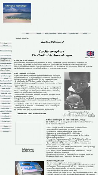 Mobile preview of alternative-technologie.de