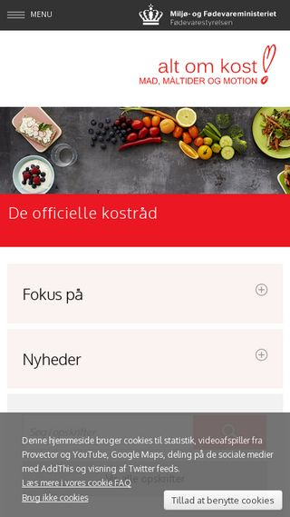 Mobile preview of altomkost.dk