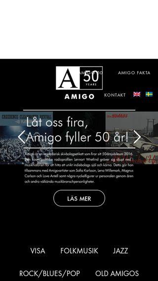Mobile preview of amigo-musik.se
