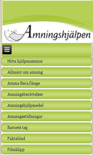 Mobile preview of amningshjalpen.se