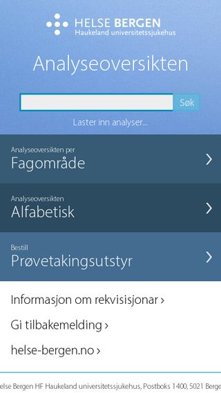 Mobile preview of analyseoversikten.no