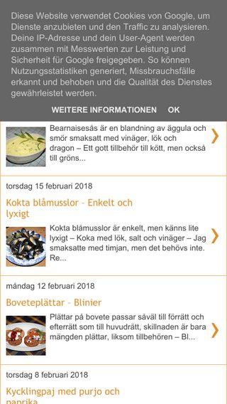 Mobile preview of andersmatblogg.blogspot.com