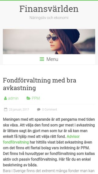 Mobile preview of andos.se