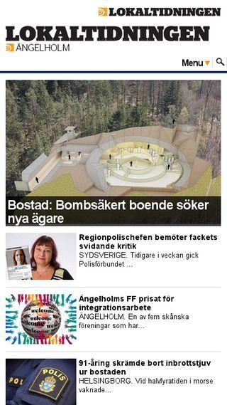 Mobile preview of angelholm.lokaltidningen.se