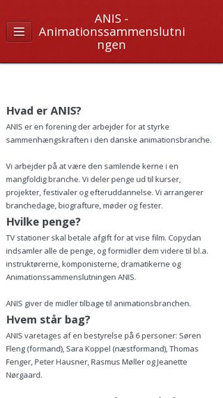 Mobile preview of anis.nu