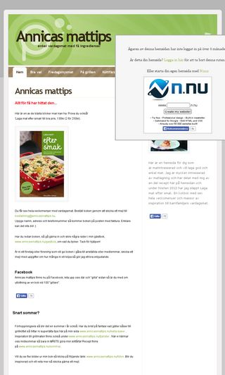 Mobile preview of annicasmattips.nu