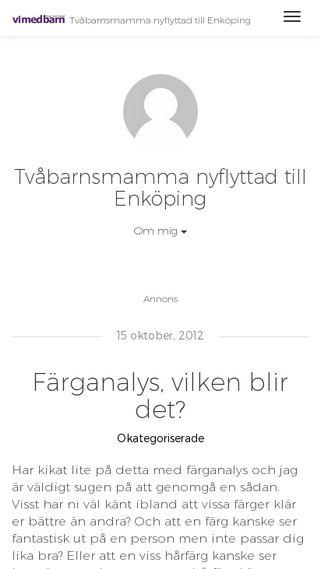 Mobile preview of annikaskoglund.vimedbarn.se