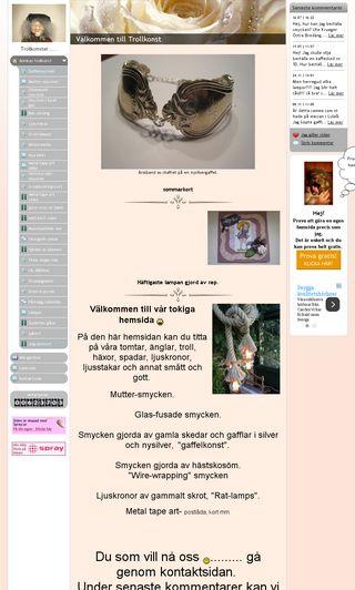 Mobile preview of annikastrollkonst.se