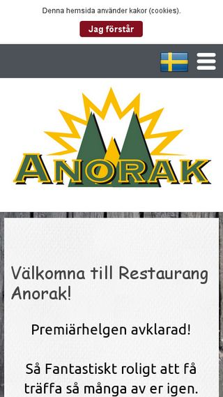 Mobile preview of anorak.nu