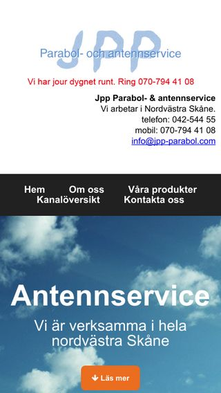 Mobile preview of antennservice.net