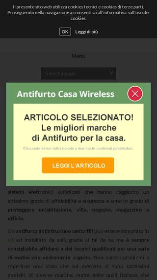 Mobile preview of antifurtocasawireless.eu