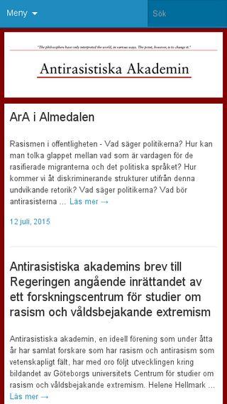 Mobile preview of antirasistiskaakademin.se