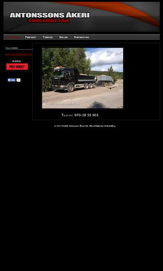 Mobile preview of antonssonsakeri.se
