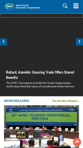Mobile preview of apec.org