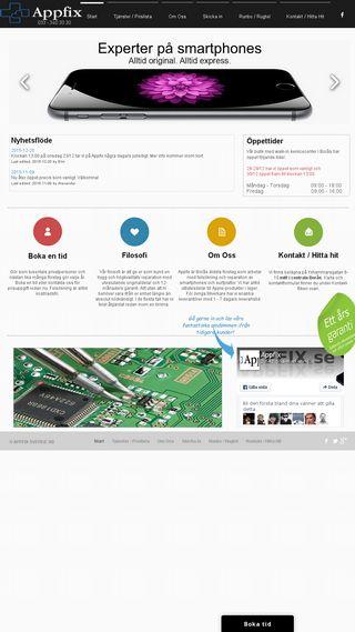 Mobile preview of appfix.se