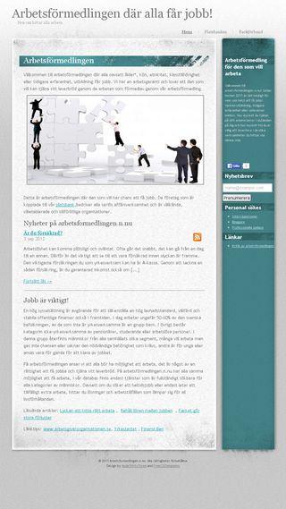 Mobile preview of arbetsformedlingen.n.nu