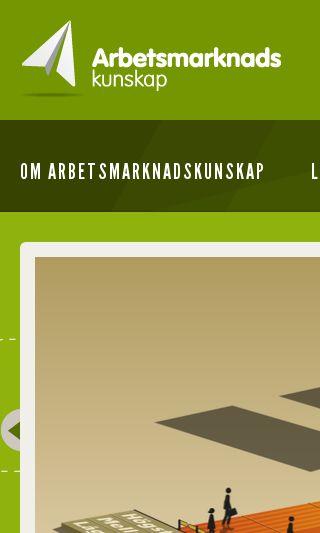 Mobile preview of arbetsmarknadskunskap.se
