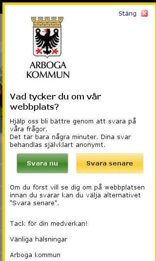 Mobile preview of arboga.se