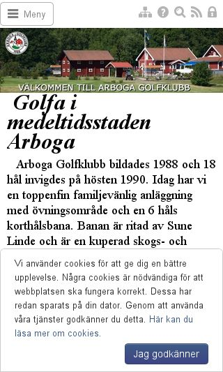 Mobile preview of arbogagk.se