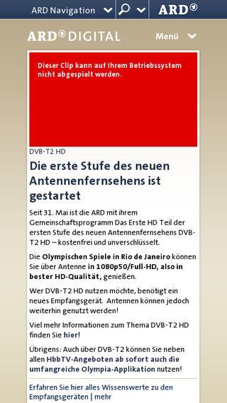 Mobile preview of ard-digital.de
