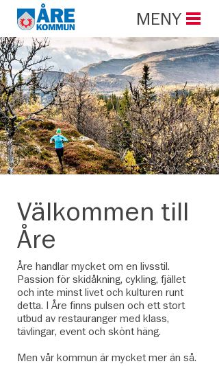 Mobile preview of are.se
