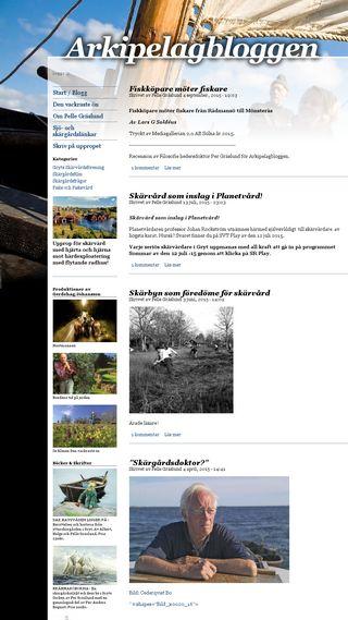 Mobile preview of arkipelagbloggen.se