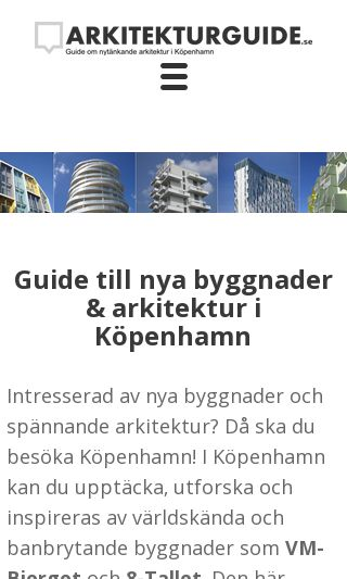 Mobile preview of arkitekturguide.se
