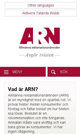 Mobile preview of natjuristerna.nu