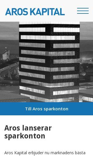 Mobile preview of aroskapital.se