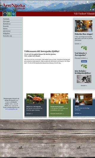 Mobile preview of arrenjarka.se