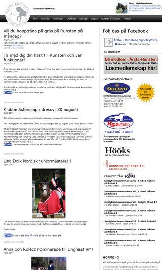 Mobile preview of arsta-runsten.se