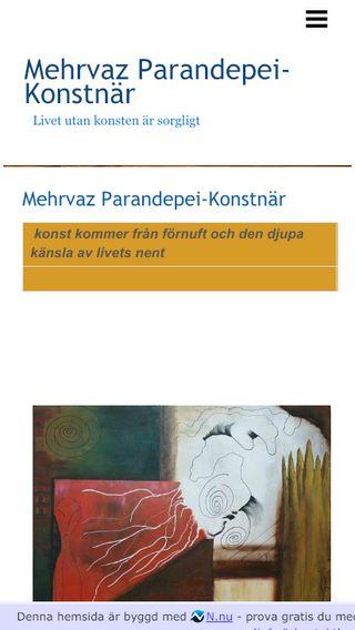 Mobile preview of artmehrvaz.n.nu