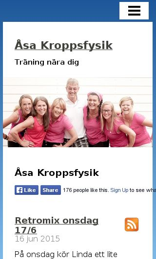 Mobile preview of asakroppsfysik.se