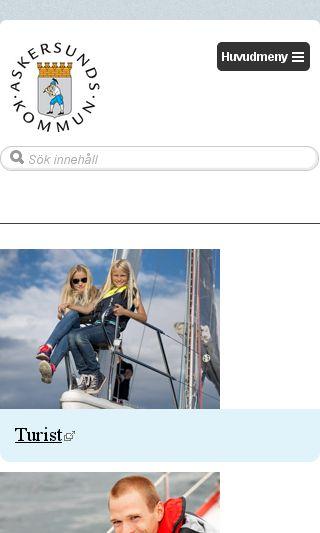 Mobile preview of sydnarkenytt.se