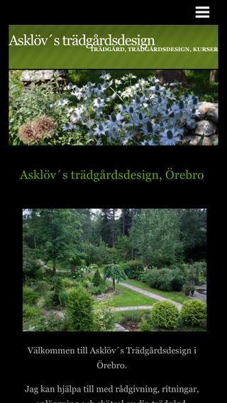 Mobile preview of asklovstradgardsdesign.n.nu