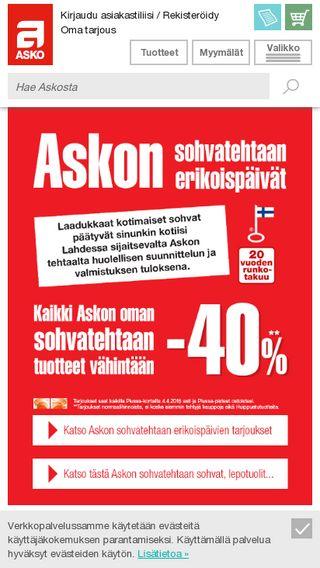 Mobile preview of asko.fi