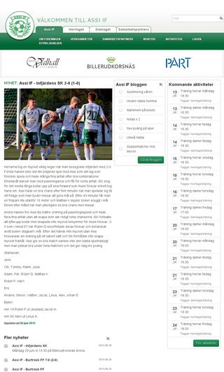 Mobile preview of assifotboll.se