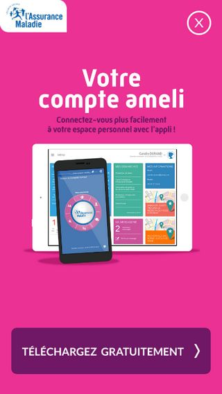 Mobile preview of assure.ameli.fr