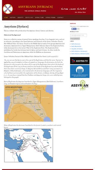 Mobile preview of assyrians.n.nu