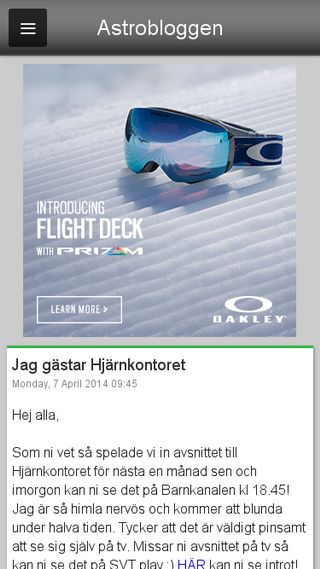 Mobile preview of astronomi.blogg.se