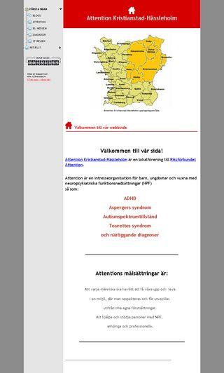 Mobile preview of attention-nordostraskane.se