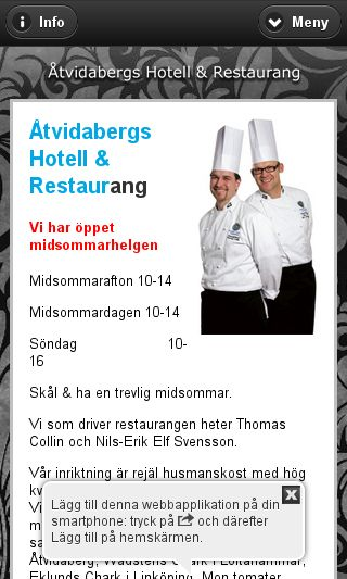 Mobile preview of atvidabergshotell.se