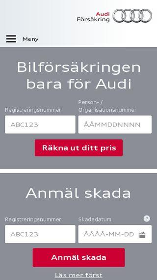 Mobile preview of audibilforsakring.se