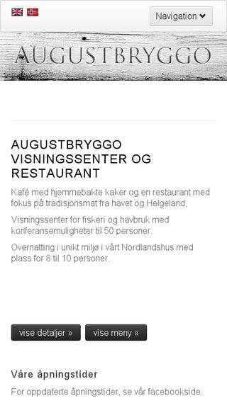Mobile preview of augustbryggo.no