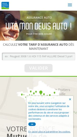 Mobile preview of auto.assurance-mutuelle-poitiers.fr